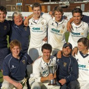 The victorious Shrewsbury CC side that defeated Cambridge Granta in the 2011 ECB National Club Championship Final